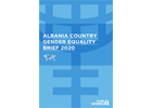 Country gender equality brief, Albania 2020