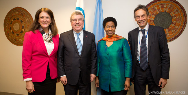 IOC teams up with UN Women to foster gender equality in Brazil targeting young women and sport