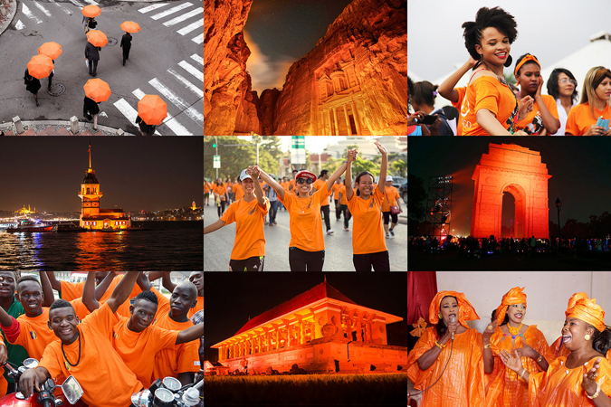OrangethedayCollage
