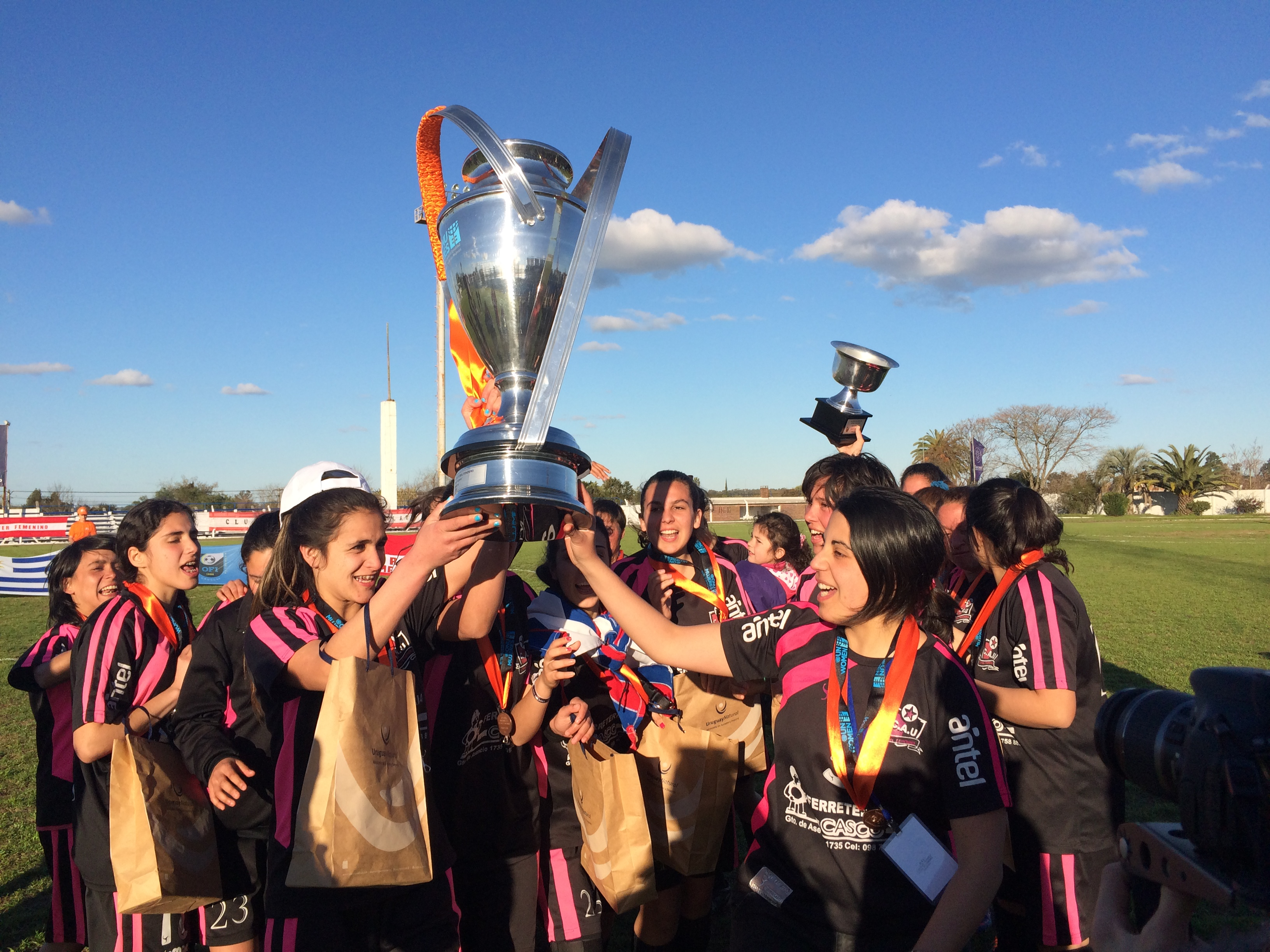 "Uruguay celebrates ""UN Women Cup"" Soccer Tournament Finals"