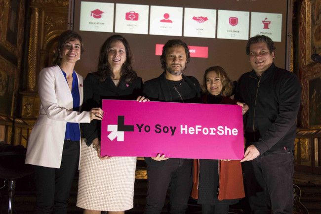 Diego Torres announced HeForShe spokesperson for Latin America and the Caribbean