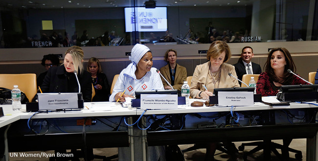 Galvanizing efforts towards the 2030 Agenda and fostering partnerships, UN Women unveils new Media Compact