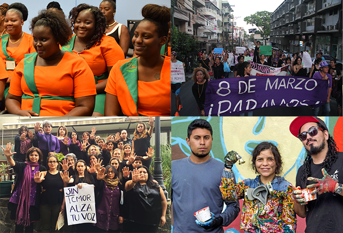 Latin America and the Caribbean mobilize on International Women's Day