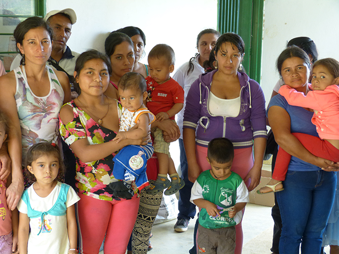 Rural Colombian women develop and strengthen their own economies