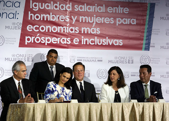 EPIC coalition is launched in Panama to close pay gap between women and men in Latin America and the Caribbean