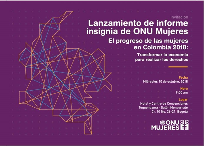 Invitación Progress Report Colombia