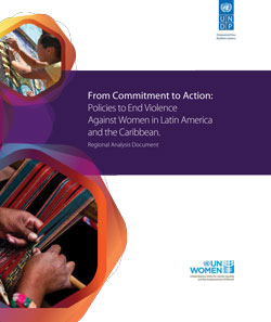 Policies to eradicate violence against women in Latin America and the Caribbean