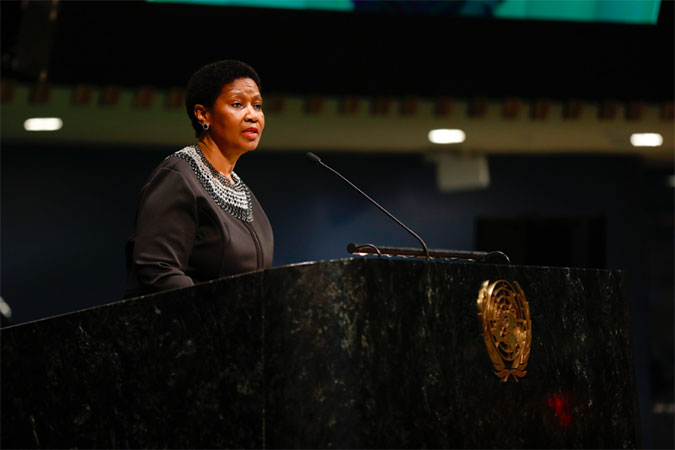 Executive Director UN Women, Phumzile Mlambo-Ngcuka