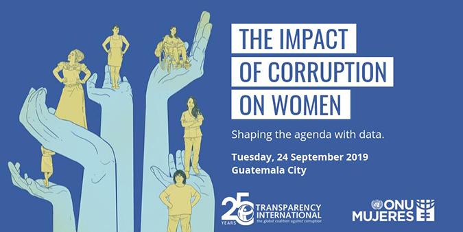 End gendered corruption in Latin America and Caribbean with coordinated action
