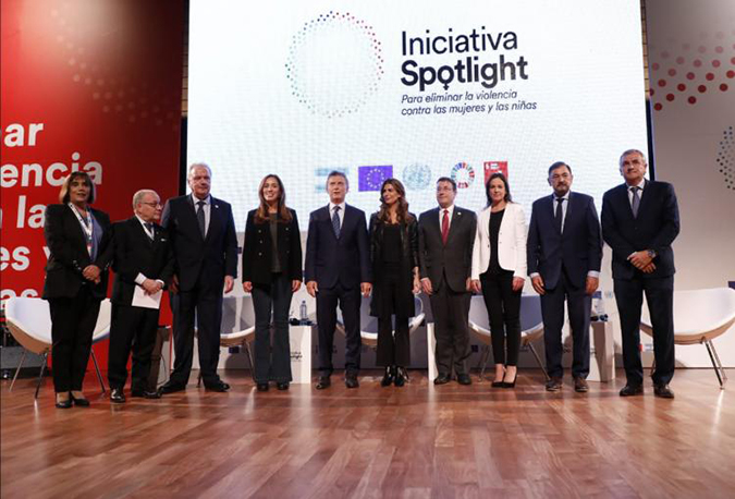 European Union and United Nations launch the Spotlight Initiative to combat femicides in the country