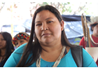 Women in leadership: Maria Leonice Tupari, connecting indigenous women and defending their rights in Brazil