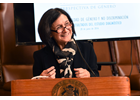 Women in leadeship : Andrea Muñoz Sánchez, the Chilean Supreme Court Minister who promoted the gender office in the judiciary.