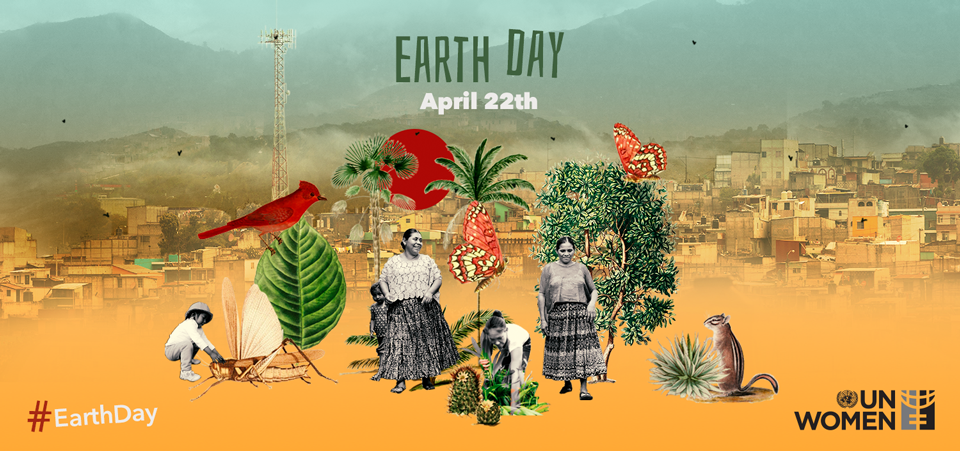 Banner Earth Day