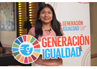 I am Generation Equality: Angy Pasache, Peruvian activist, committed to the empowerment of girls, women and youth in rural communities