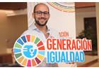 I am Generation Equality: Juan Pablo Poli, Argentine activist and sociologist, participating in political advocacy processes.