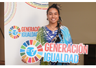 I am Generation Equality: Moana Tepano Contesse, Rapa Nui activist, committed to the preservation of the environment and her culture