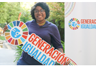 I am Generation Equality: Stephanie Murillo, Panamanian activist and producer committed to training young people to participate in decision-making spaces.