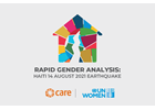 UN Women: Being amongst the most affected by the earthquake, women's and girls' meaningful participation and leadership are crucial to an effective and successful humanitarian response.