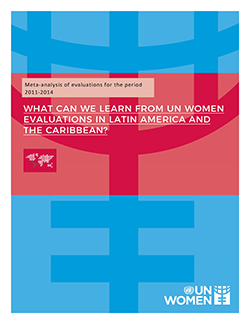 Meta-analysis of evaluations for the period 2011-2014