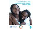 Commitments and Roadmap for a Planet 5050 by 2030