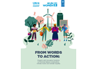 From Words to Action: Projects with Innovative Solutions to Promote Nature Conservation, Climate Action and Gender Equality