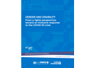 Gender and Disability | From a rights perspective: toward an inclusive response to the COVID-19 crisis