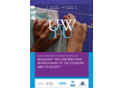 Quantify Unpaid Work (UW) and Measure Time Use (TU): Highlight the Contribution Women Make to the Economy and to Society