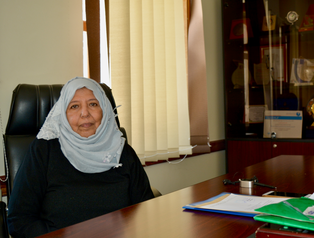 """In the words of Fathia Mohammed Abdullah Obaid: """"Women's lives can change for the better with education"""""""