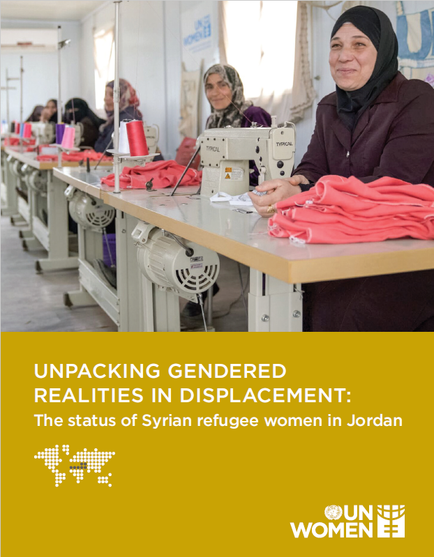 Unpacking gendered realities in displacement: the status of Syrian refugee women in Jordan