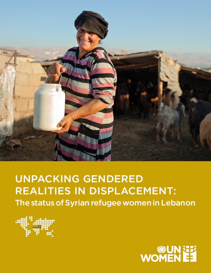 Unpacking gendered realities in displacement: the status of Syrian refugee women in Lebanon