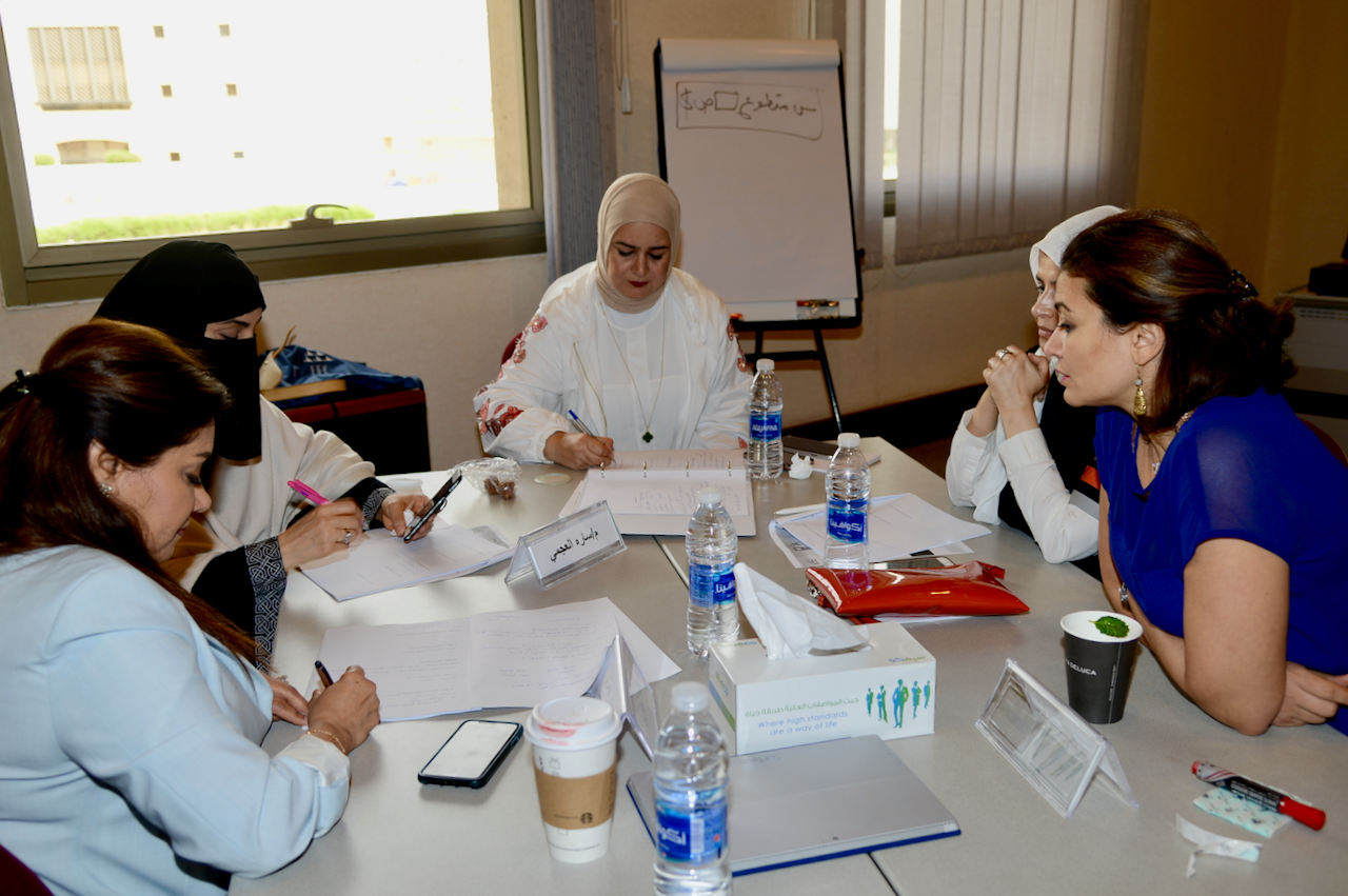 Kuwaiti women trained in campaign management and leadership skills