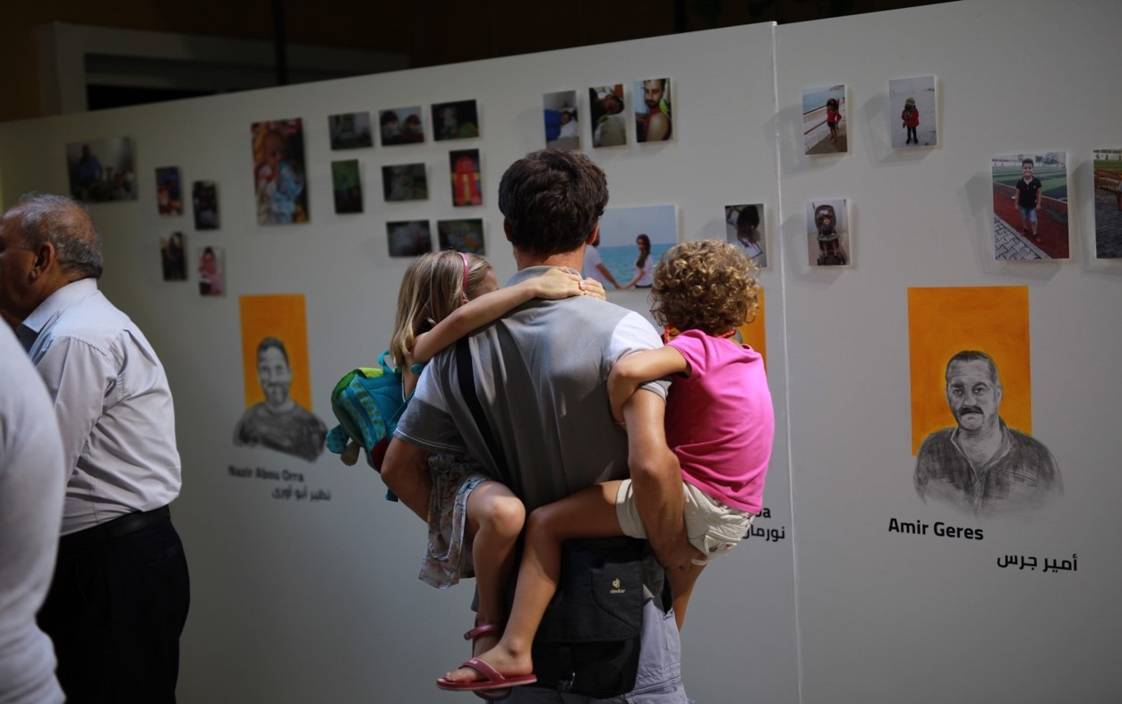 Press Release: UN Women and CARE International launch exhibition showcasing positive fatherhood in Lebanon
