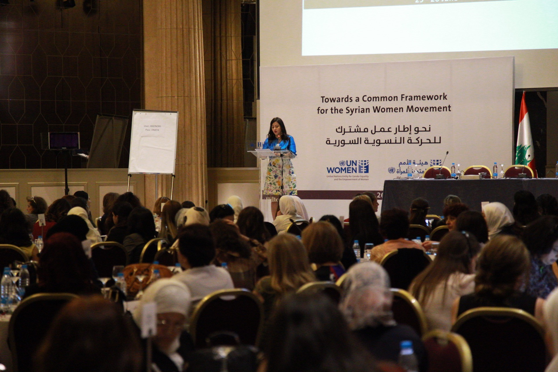 Syrian women come together to create a common framework for their movement