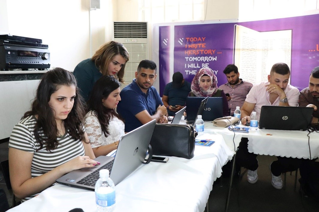 Iraqi youth closing the gender knowledge gap, one Wikipedia article at a time