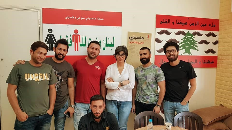 Men and women campaign together for nationality rights in Lebanon