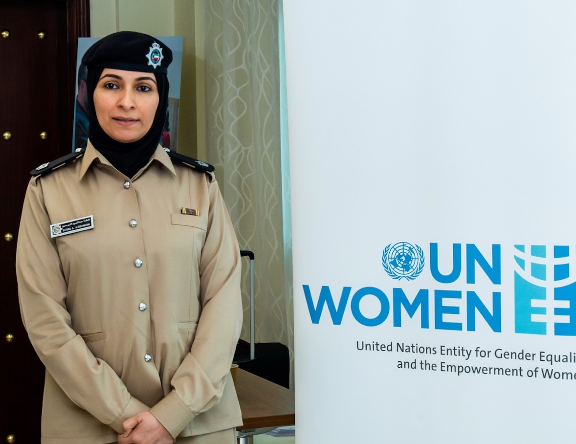 """From Where I Stand: """"Kuwaiti women have achieved great success as part of the security forces"""""""