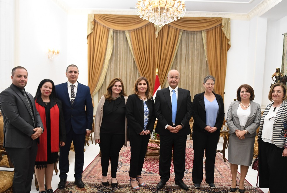 UN Women Iraq, President's office will partner to promote gender equality and women's empowerment