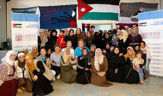 Strengthening resilience, investing in passion: Zonta International Foundation and UN Women empower women across Jordan