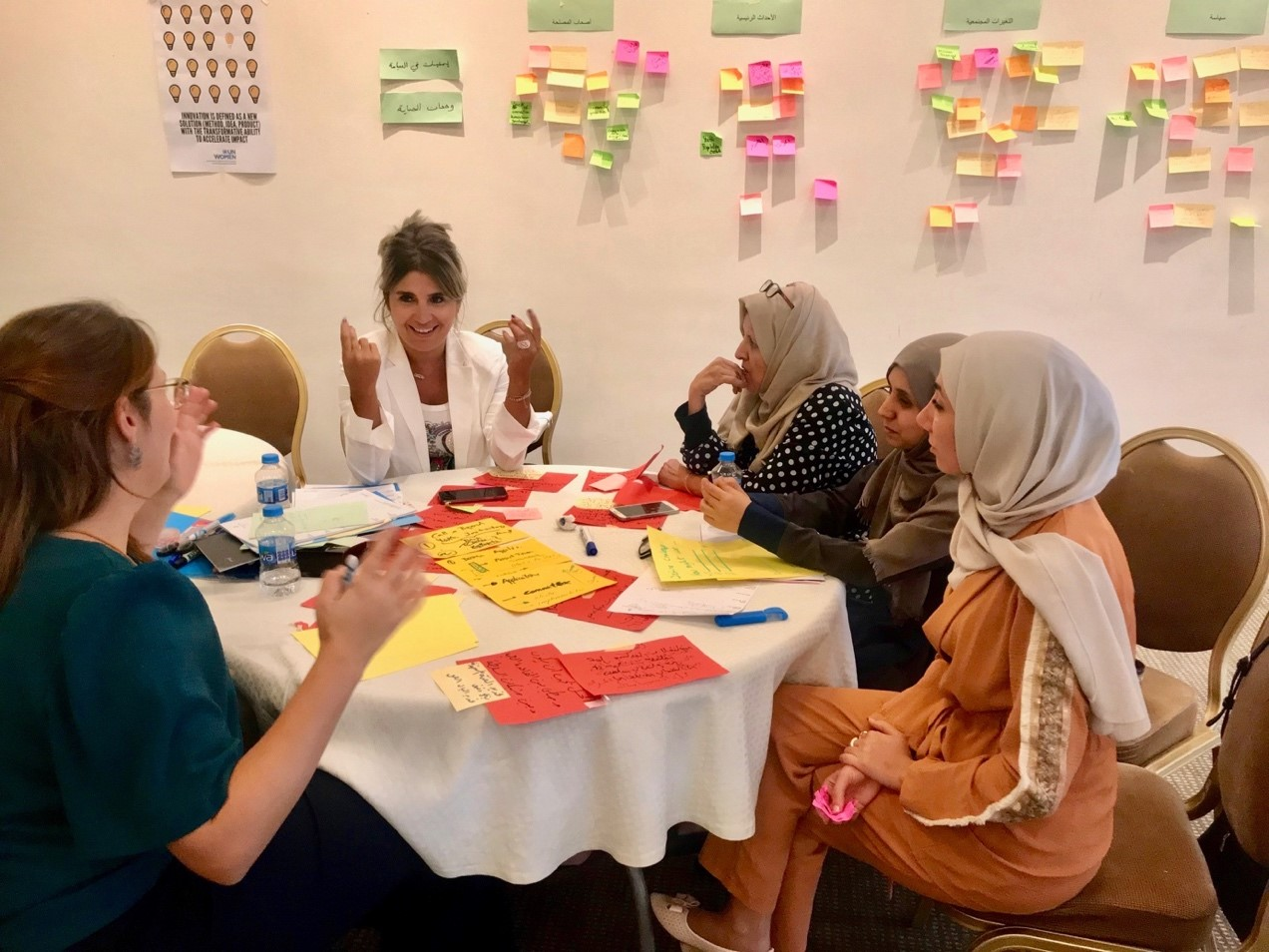 Applying Social Innovation for Women's Rights in the Arab States