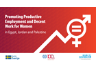 Media Advisory: The first Steering Committee Meeting to Launch the Joint Programme on advancing the Work for Women in Egypt, Jordan and Palestine