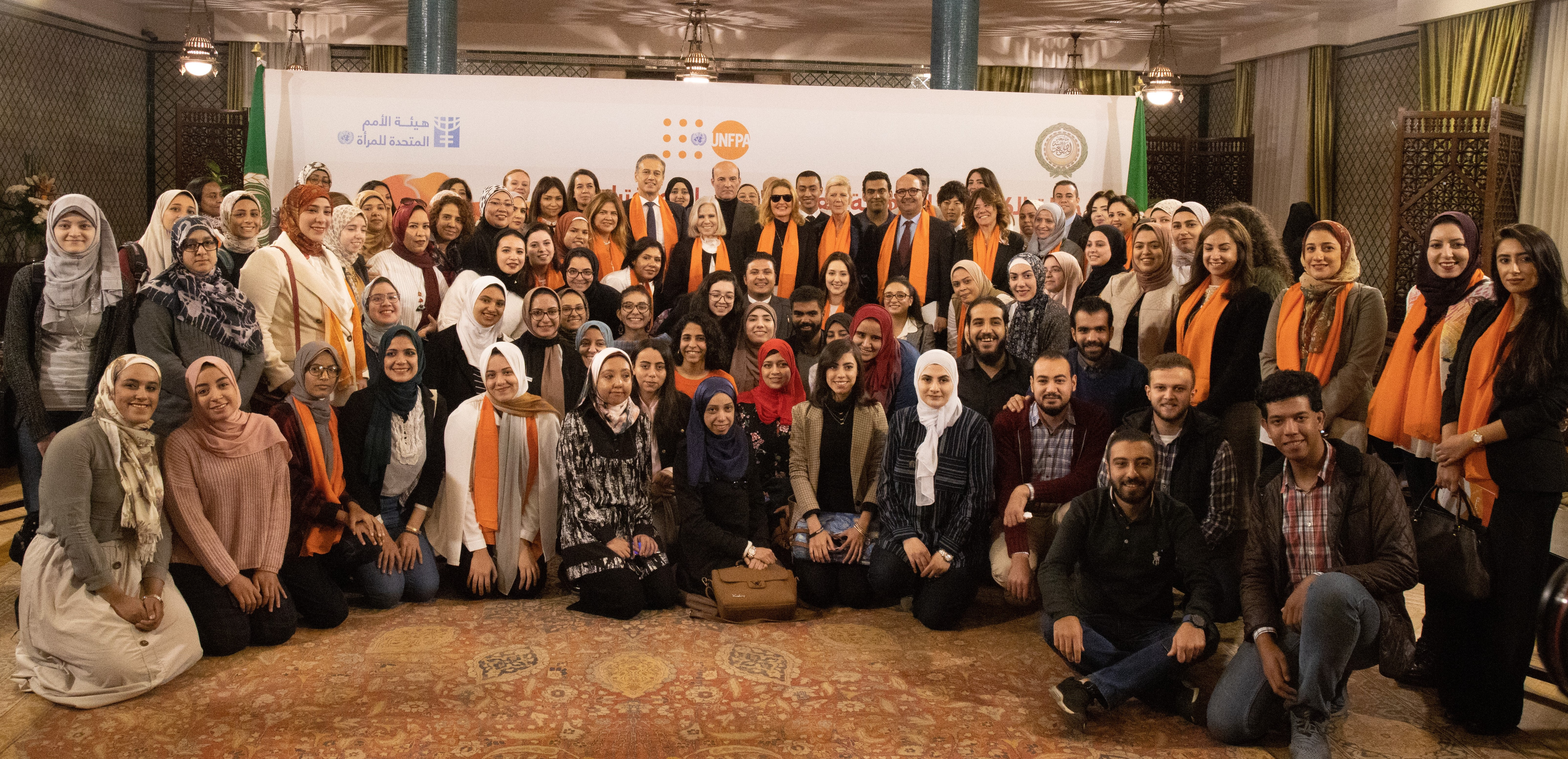 The League of Arab States, UN Women and UNFPA renew a shared commitment to address violence against women