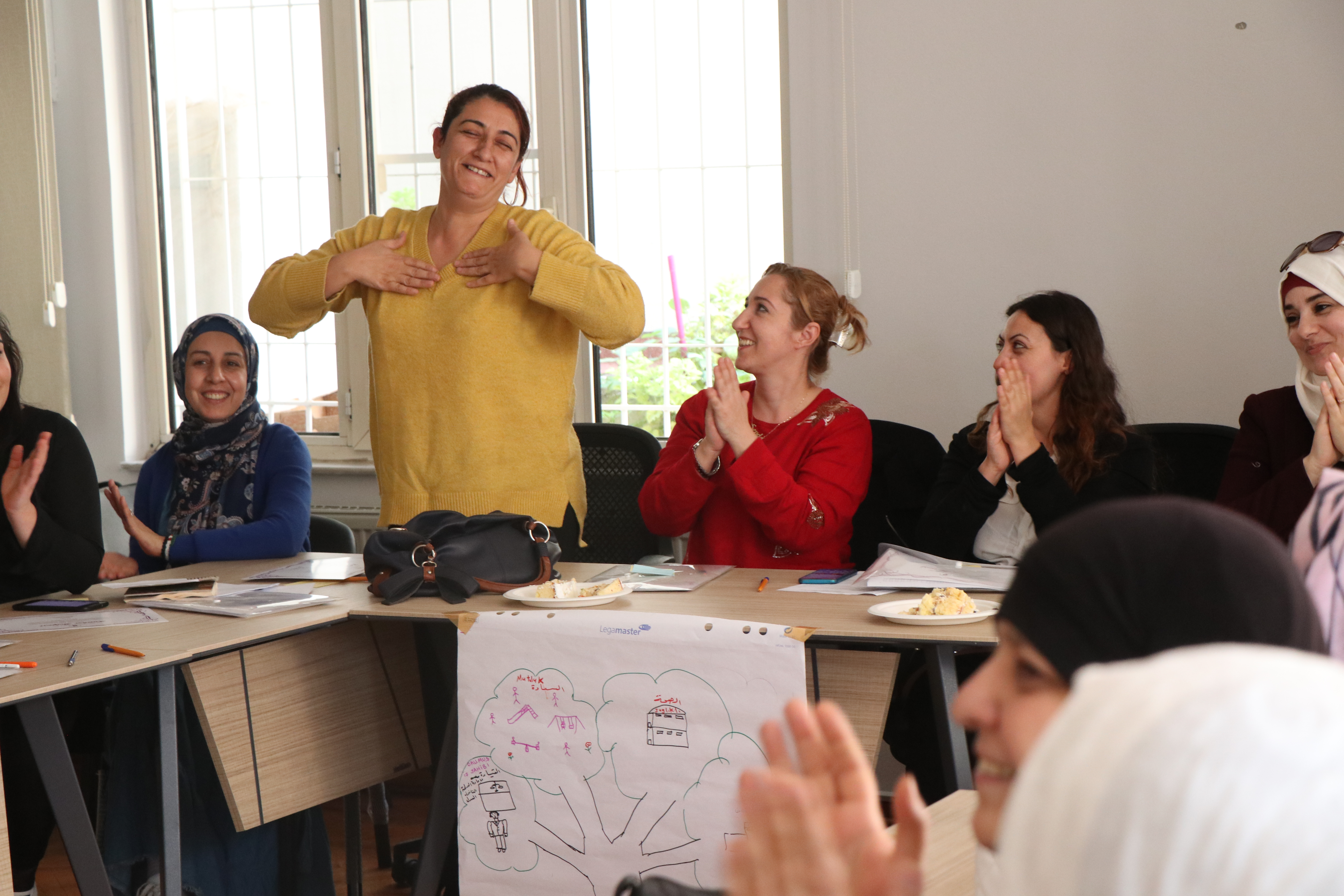 Turkish and Syrian women manifest solidarity to respond to COVID-19