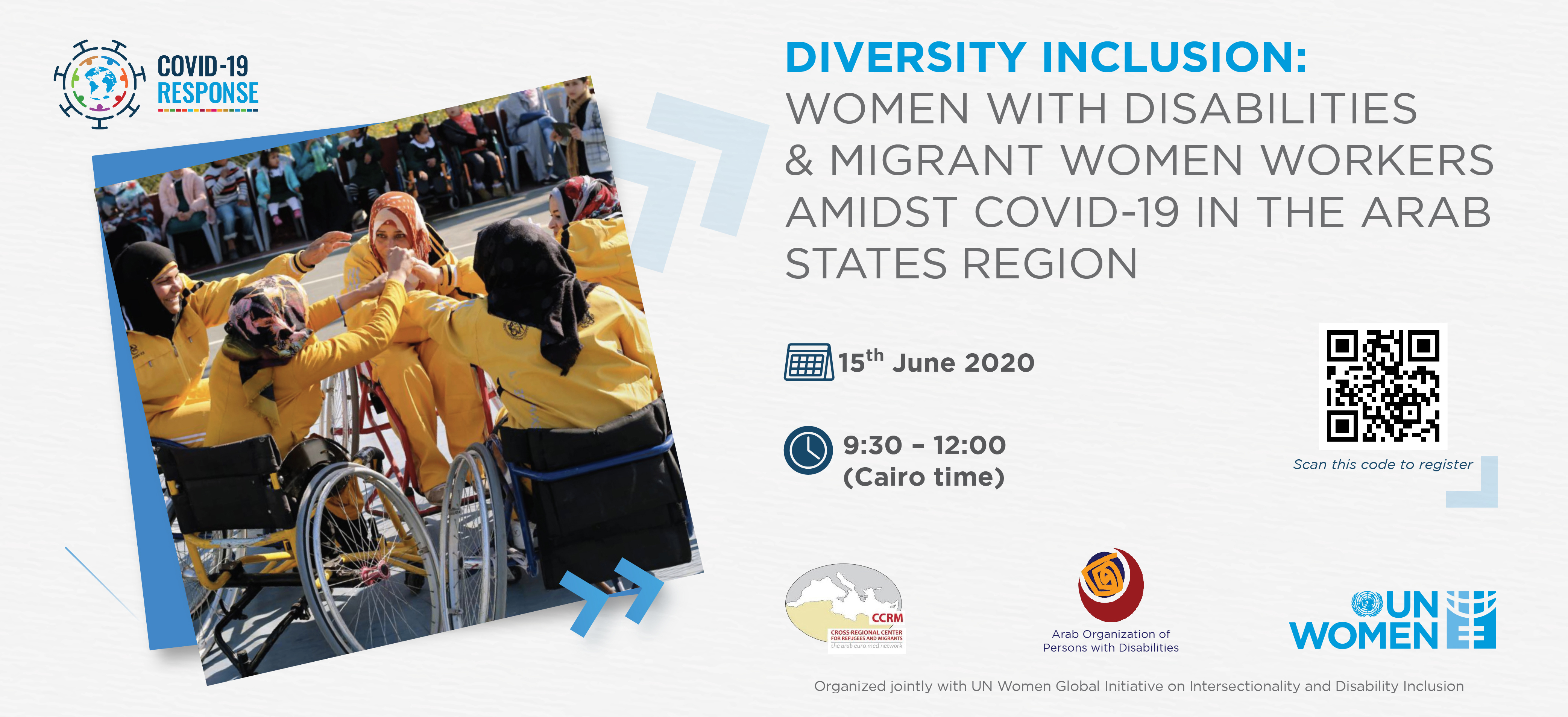 Diversity inclusion: Women with Disabilities and Migrant Women Workers amidst Covid-19 in the Arab States region