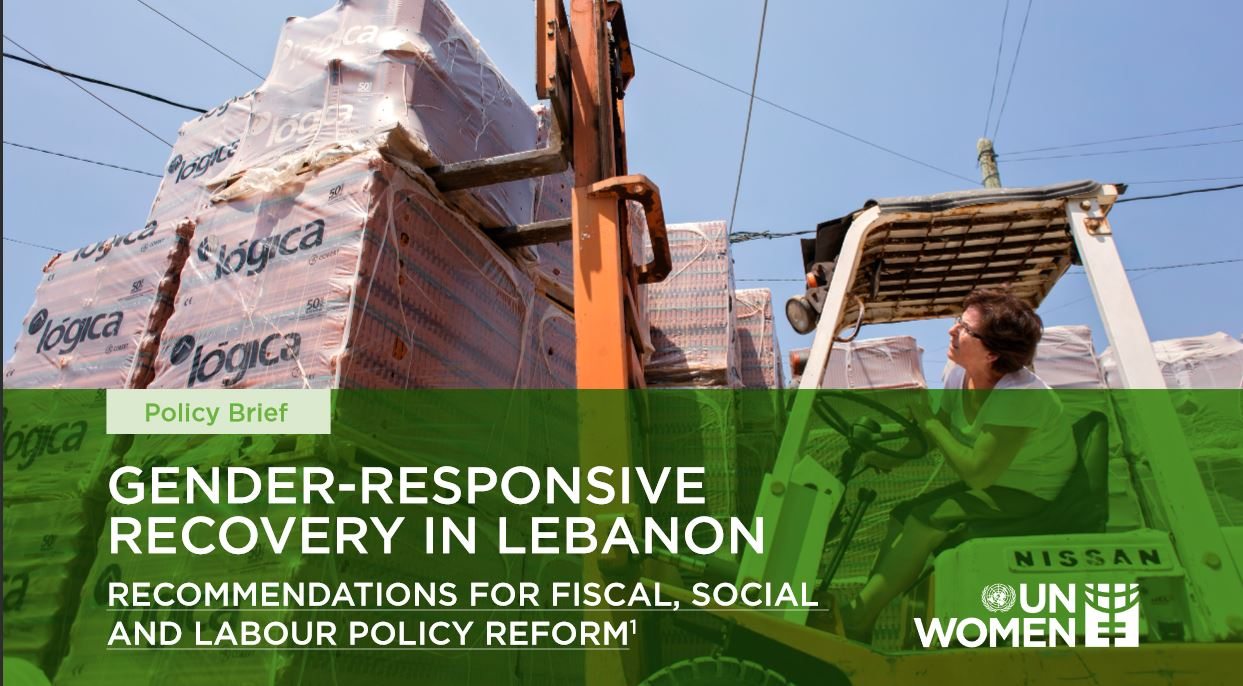Press release: Launch of UN Women's policy Brief on Gender-Responsive Recovery in Lebanon