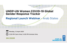 Webinar: Launch of the COVID-19 Global Gender Response Tracker  in the Arab States