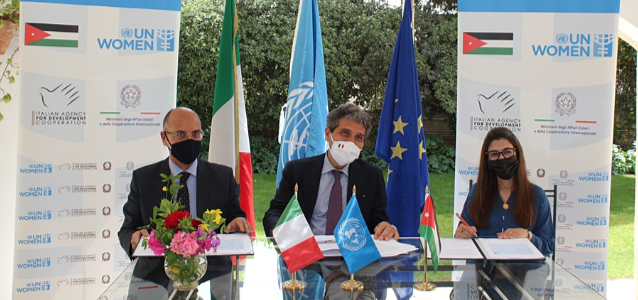 Italy and UN Women Partner to Support Vulnerable Women during the COVID-19 Response and Recovery