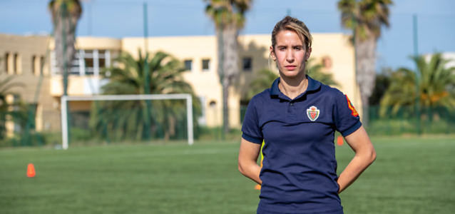 I am Generation Equality: Bouchra Karboub, Police Inspector and international football referee