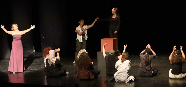 Through art theatre, women and girls are embarking on a journey to seek the truth, foster collective remembrance, and ultimately, move towards reconciliation.