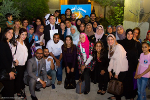 Rapping and rhyming for rights: Yannick Glemarec visits programmes in Egypt