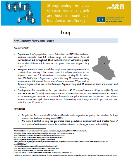 Iraq Madad Factsheet